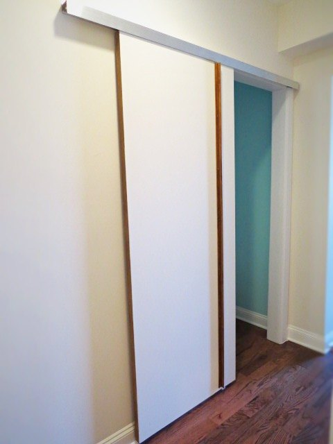 DIY: A Sliding Barn-Type Bedroom Door | Hometalk