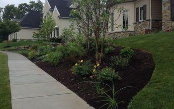 Front Yard Landscape Installation
