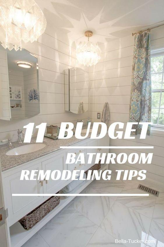 Budget Bathroom Remodel Hometalk Inspiration Bathroom Remodel Tips