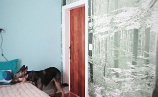 diy a sliding barn type bedroom door, bedroom ideas, doors, how to