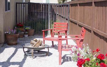 diy gravel patio in one weekend, gardening, landscape, outdoor living