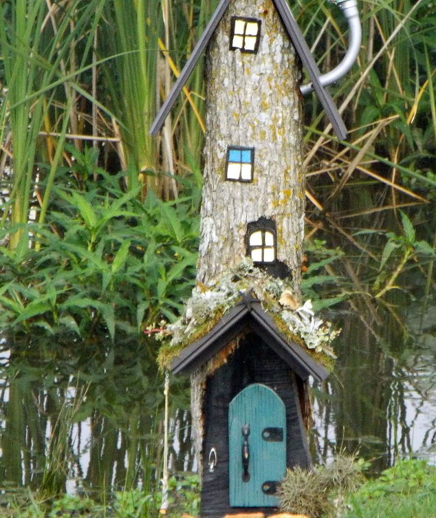 Fairy House From A Stump