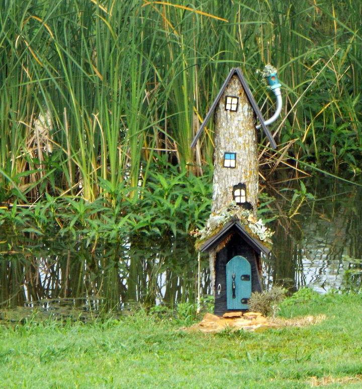 Fairy House From A Stump Hometalk
