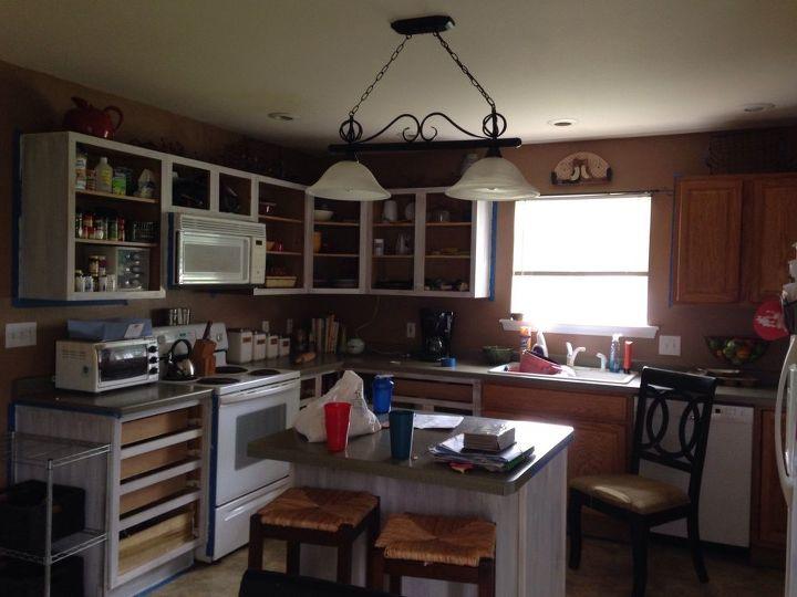 Fantastic Kitchen Cabinets Makeover With Milk Paint Hometalk Download Free Architecture Designs Itiscsunscenecom