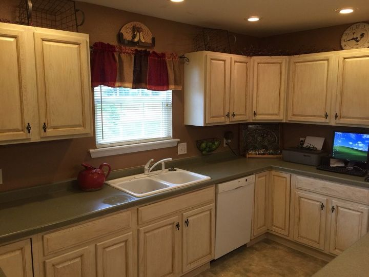 Kitchen Cabinets Makeover With Milk Paint Design Painting