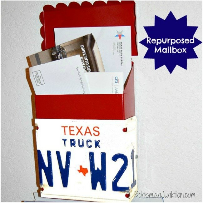 repurposed salvage mailbox, how to, outdoor living, repurposing upcycling