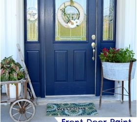 front door painting curb appeal doors paint colors painting Shannon Marburger & Painting the Inside of Your Front Door | Hometalk Pezcame.Com