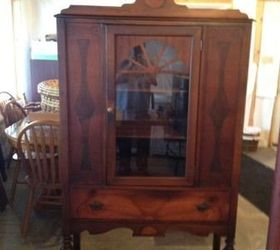 Q Repurposing A China Cabinet, Painted Furniture, Repurposing Upcycling