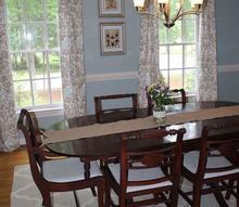 bright botanical dining room remodel, dining room ideas