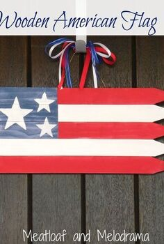 patriotic american flag decoration, crafts, how to, patriotic decor ideas, seasonal holiday decor, woodworking projects