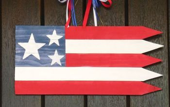 Patriotic American Flag Decoration
