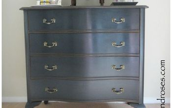 bedroom chest of drawers makeover, painted furniture