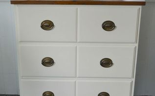 from broken desk to chest of drawers, painted furniture, repurposing upcycling