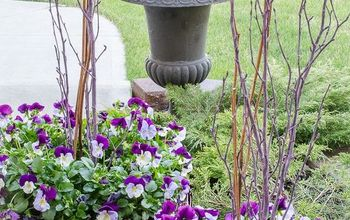 How To Create A Gorgeous Pansy Outdoor Planter In Four Easy Steps