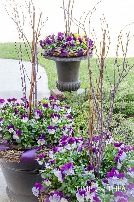 Outdoor Planter How to create a gorgeous pansy outdoor planter in four easy steps how to create a gorgeous pansy outdoor planter in four easy steps container gardening workwithnaturefo