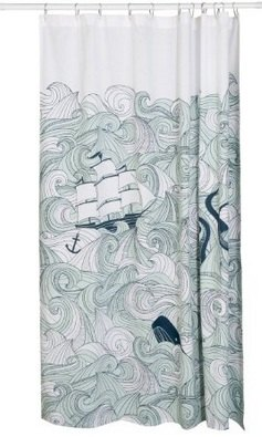 Diy Stretched Fabric Wall Art From A Shower Curtain Crafts How To Repurposing