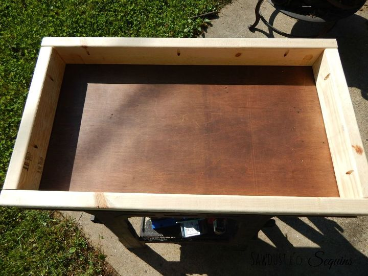 diy party cart potting bench, diy, gardening, how to, outdoor furniture, outdoor living, woodworking projects