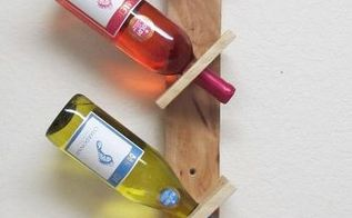 recycled pallet wood wine rack by redeemwood, pallet, repurposing upcycling, wall decor, 3 bottle wine rack