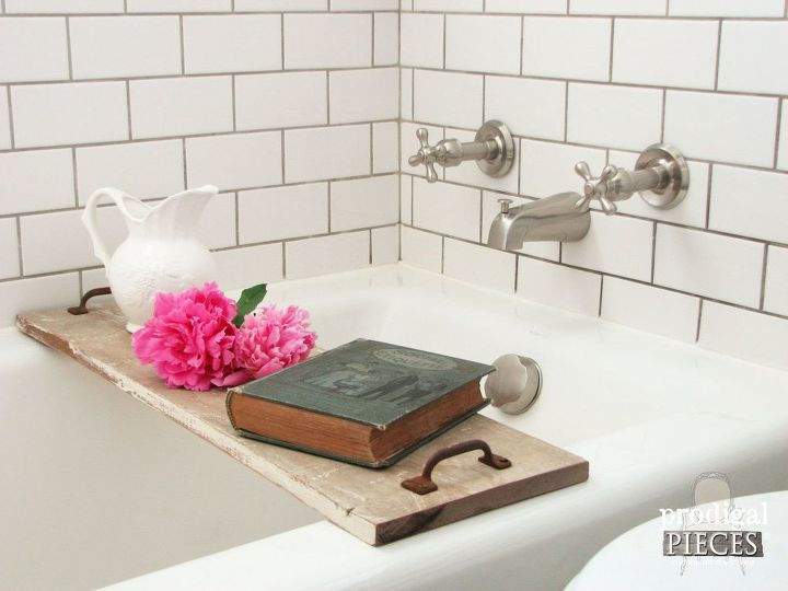 build a bathtub tray diy style makes great gifts, bathroom ideas, diy, how to, woodworking projects
