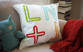 Personalized Monogram Pillow Cover