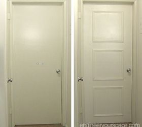 easy door upgrade with moulding no nails needed doors how to & Easy Door Upgrade With Moulding: No Nails Needed! | Hometalk