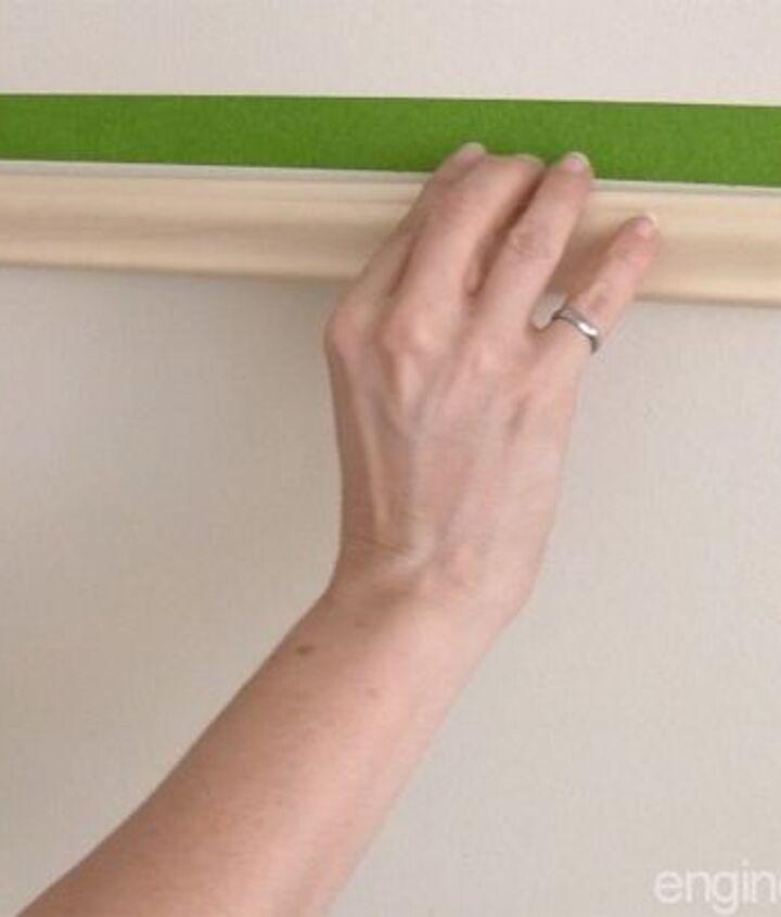 easy door upgrade with moulding no nails needed, doors, how to