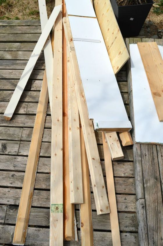 how to build a rustic mirror frame for free, home decor, how to, rustic furniture, woodworking projects