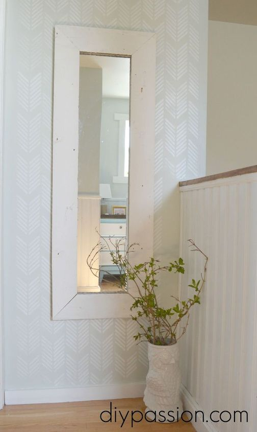 How to Build a Rustic Mirror Frame for Free! | Hometalk