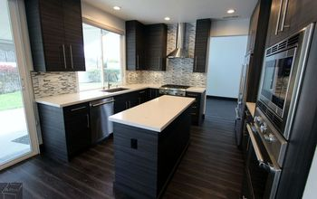 San Clemente Kitchen Home Remodel With Modern Sophia Line Cabinets