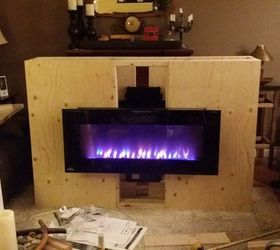 Living Room And Mantle Makeover, Diy, Fireplaces Mantels, How To, Living  Room