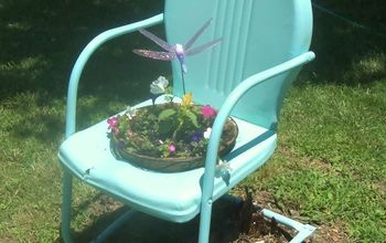 Vingate Metal Lawn Chair Gets a New Life!