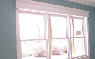 diy craftsman style window trim, diy, how to, windows, After