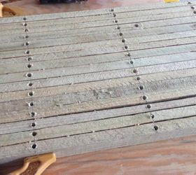diy wood slat door mat doors how to outdoor living repurposing upcycling & DIY Wood Slat Door Mat | Hometalk