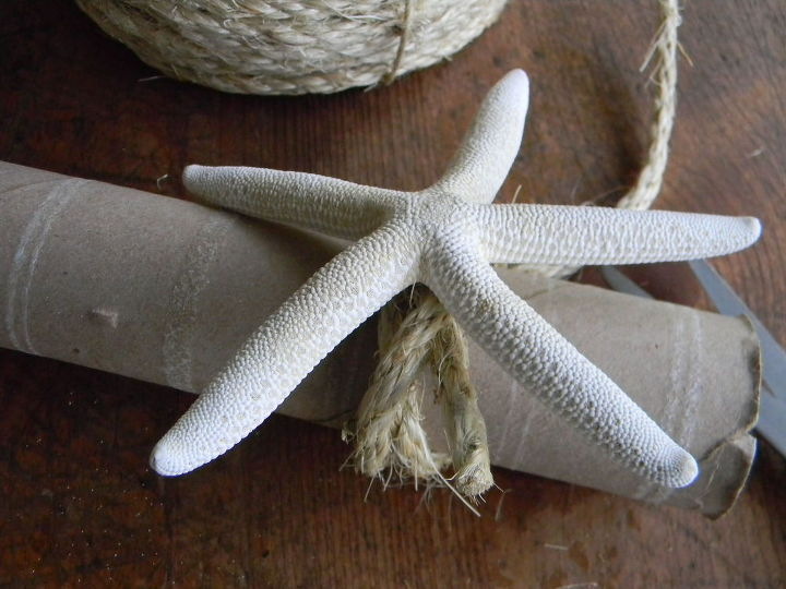 starfish napkin ring a fast diy tutorial, crafts, dining room ideas, how to, repurposing upcycling