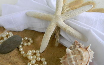 Starfish Napkin Ring: A Fast DIY Tutorial