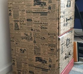 File Cabinet Upcycle With Wrapping Paper, Chalk Paint, Decoupage, Painted  Furniture