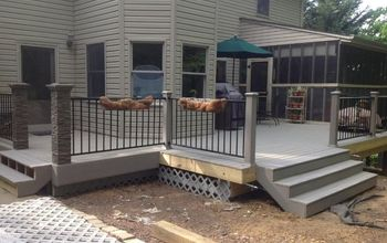 Replacing Old Wooden Deck With Composite Deck
