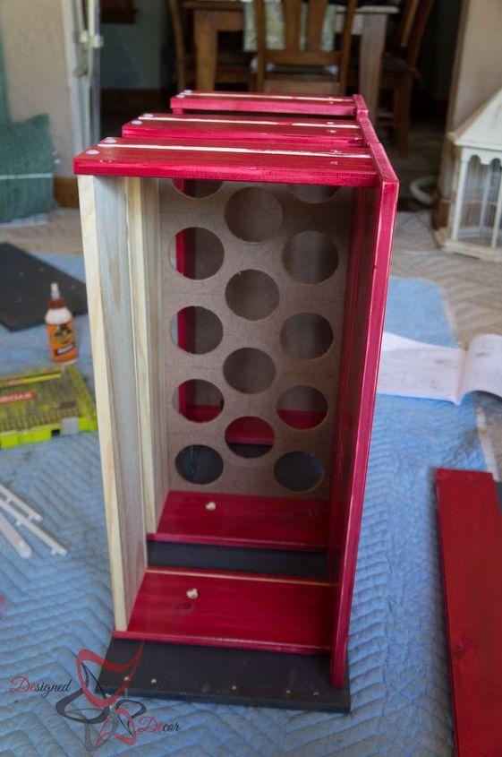 dresser turned baseball bat holder, chalkboard paint, painted furniture, repurposing upcycling
