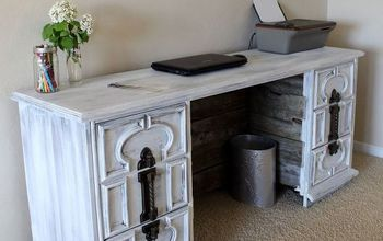 Dresser to Desk Transformation