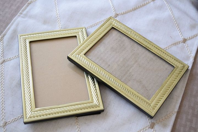 Beautiful Transformation of Thrift-store Frames. | Hometalk