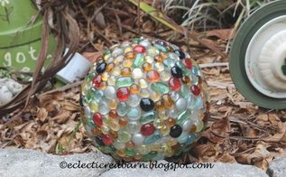 globe shade as solar light cover, crafts, how to, lighting, outdoor living, repurposing upcycling