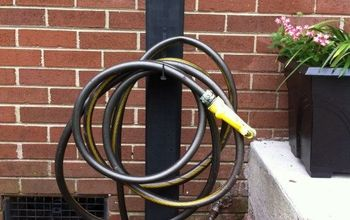 hose holder made from scrap materials, fences, gardening, how to, repurposing upcycling, woodworking projects