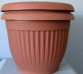 How To Upcycle Cheap Flower Pots, Container Gardening, Crafts, Gardening,  Via Kristin