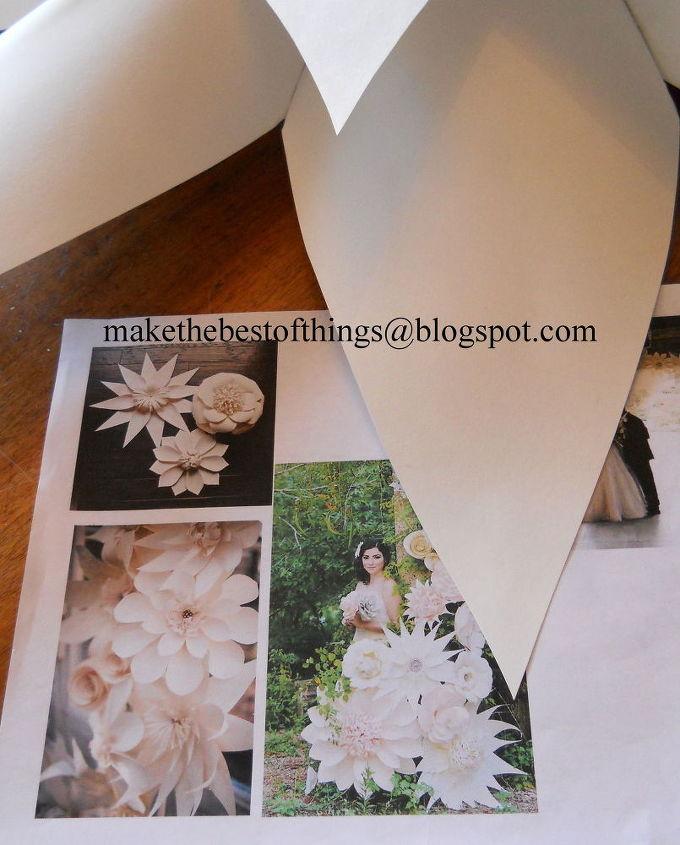 Diy huge flowers for an outdoor wedding hometalk diy huge flowers for an outdoor wedding crafts how to outdoor living mightylinksfo