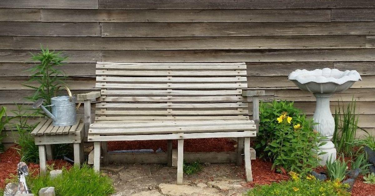 what color should i paint my garden bench hometalk - Garden Furniture Paint Colours