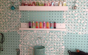 Creating Custom Shelves For Your Pegboard Organizer