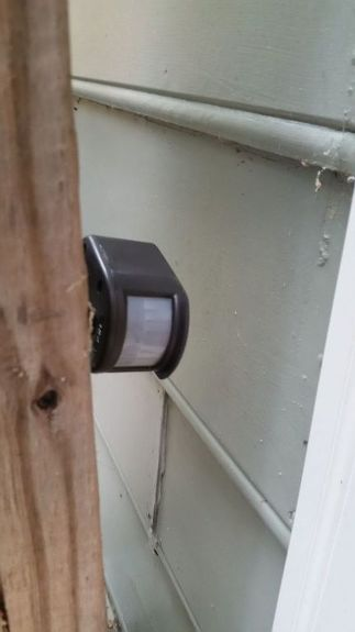 How To Add A Motion Sensor An Antique Outdoor Light Electrical Gardening
