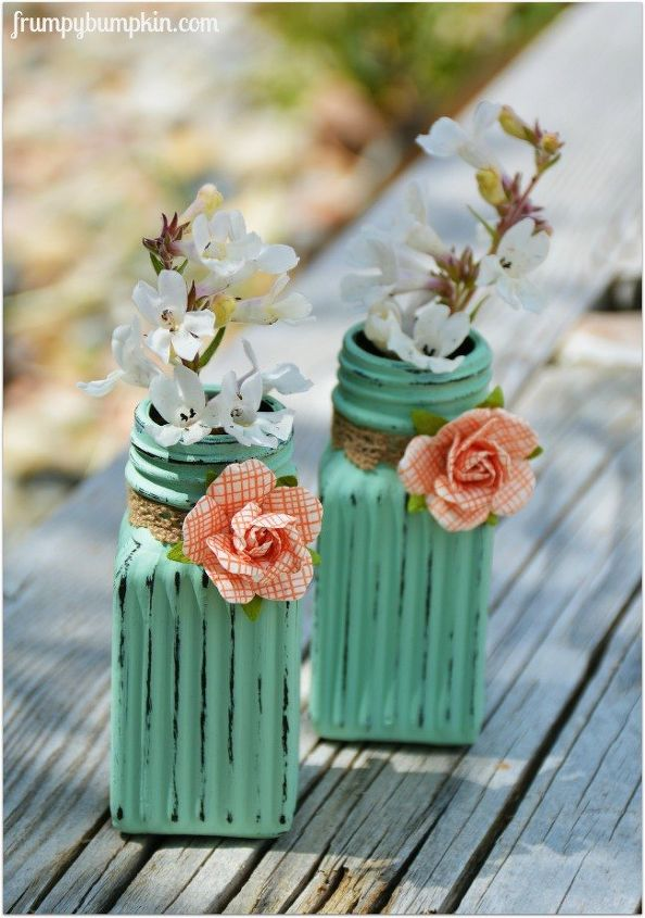 flower vases from salt pepper shakers, container gardening, crafts, flowers, gardening, home decor, repurposing upcycling