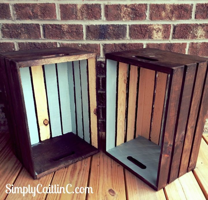 Fantastic An Easy Weekend Project For Your Leftover Crates! | Hometalk CS79