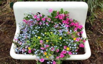 Tips for Planting in Vintage Sinks